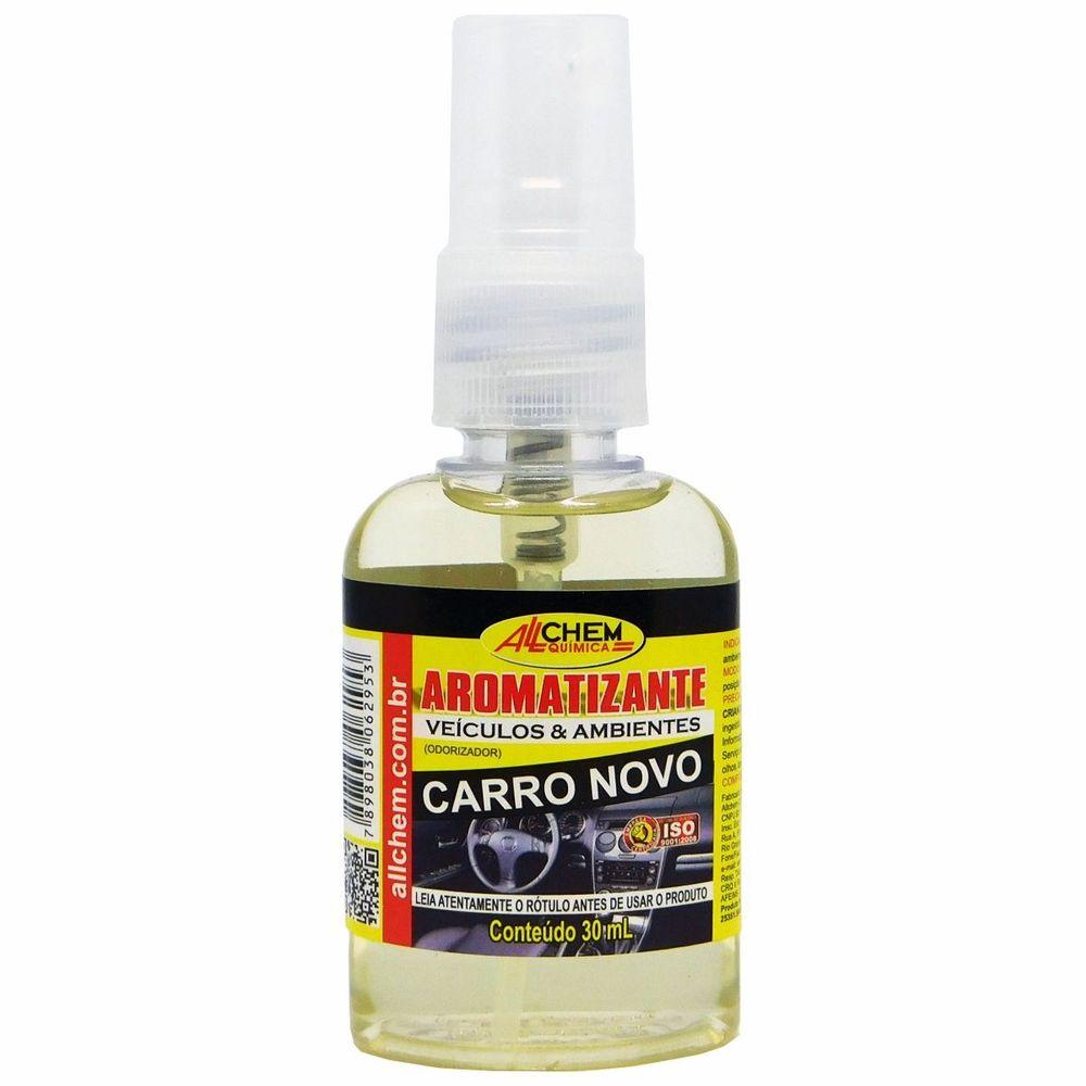 Aromatizante Spray Carro Novo 12x30 mL