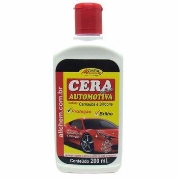 Cera Automotiva Liquida 12x200 mL