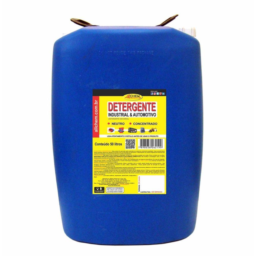 Detergente Automotivo e Industrial 50 Litros