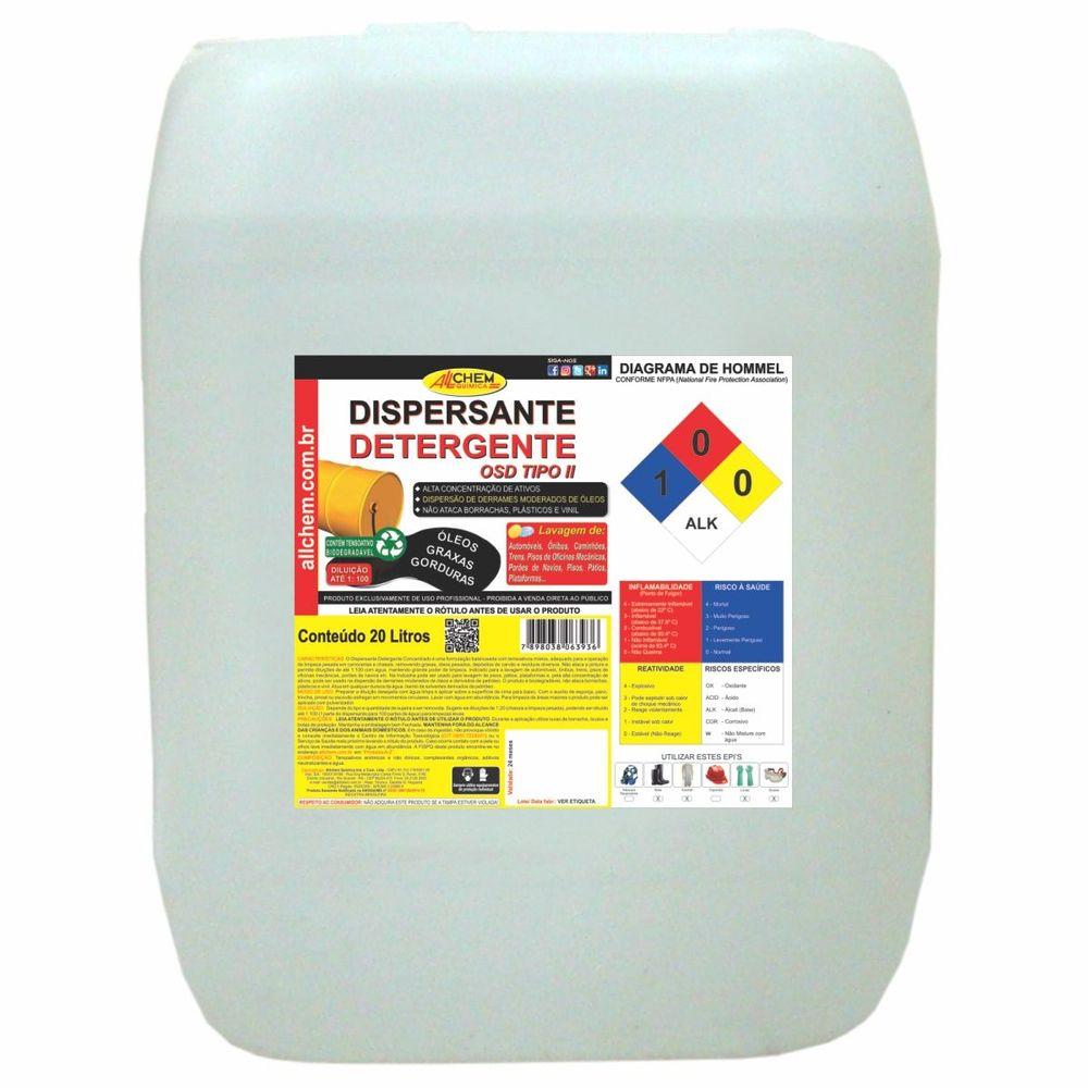 Dispersante e Detergente 20 Litros