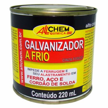 Galvanizador a Frio Cinza 6x220 mL