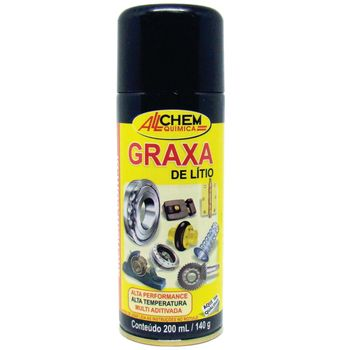 Graxa de Litio Aerossol 12x200 mL