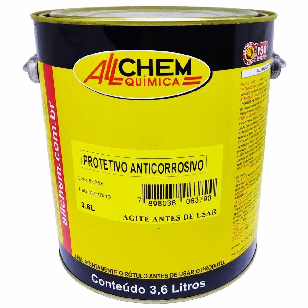 Protetivo Anticorrosivo 2x3,6 Litros