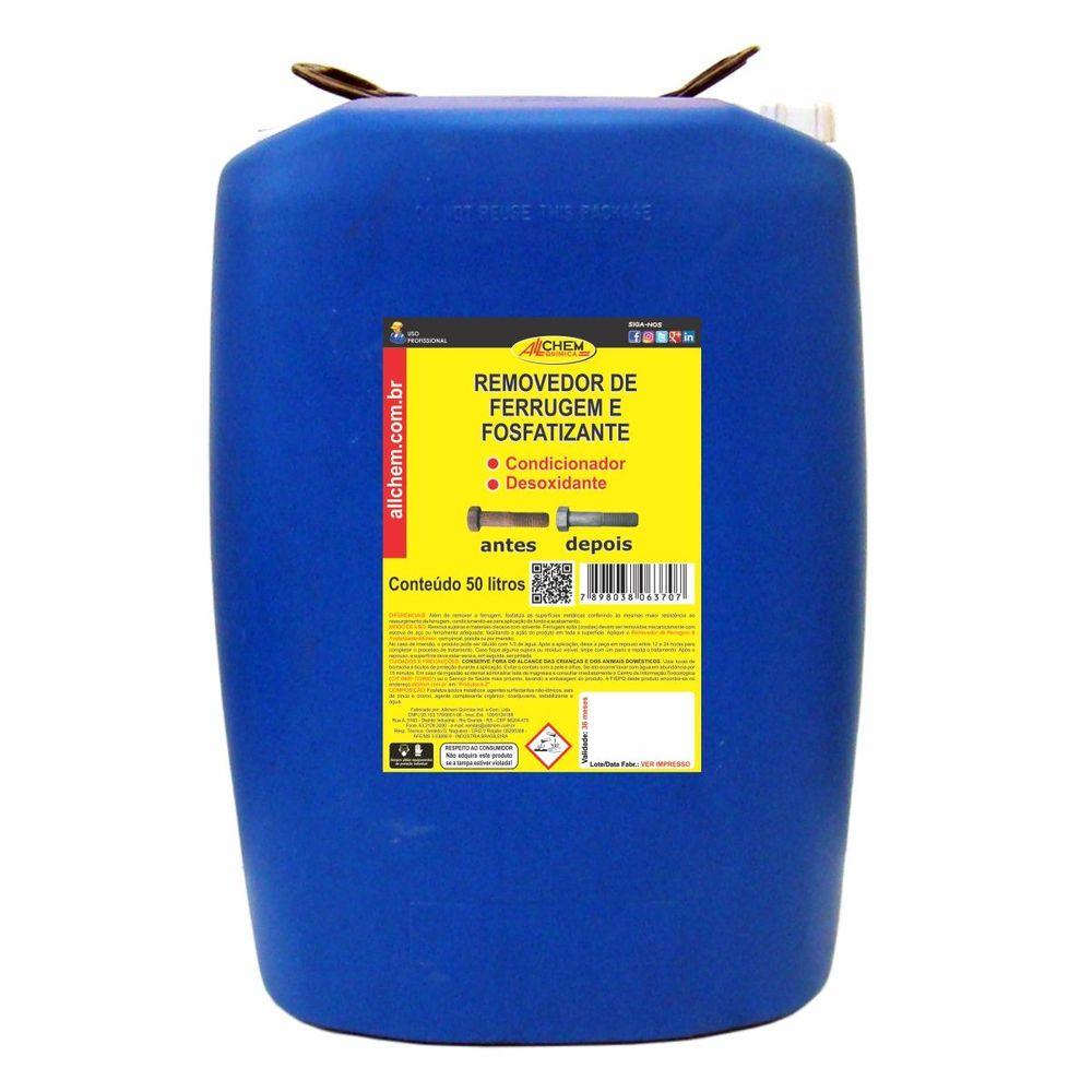 Removedor de Ferrugem e Fosfatizante 50 lItros