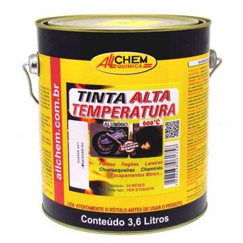 Tinta Alta Temperatura Alumínio 2x3,6 Litros