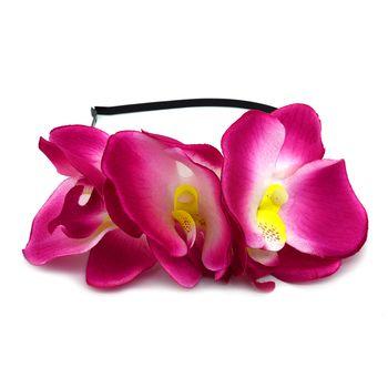 Tiara de Orquídea
