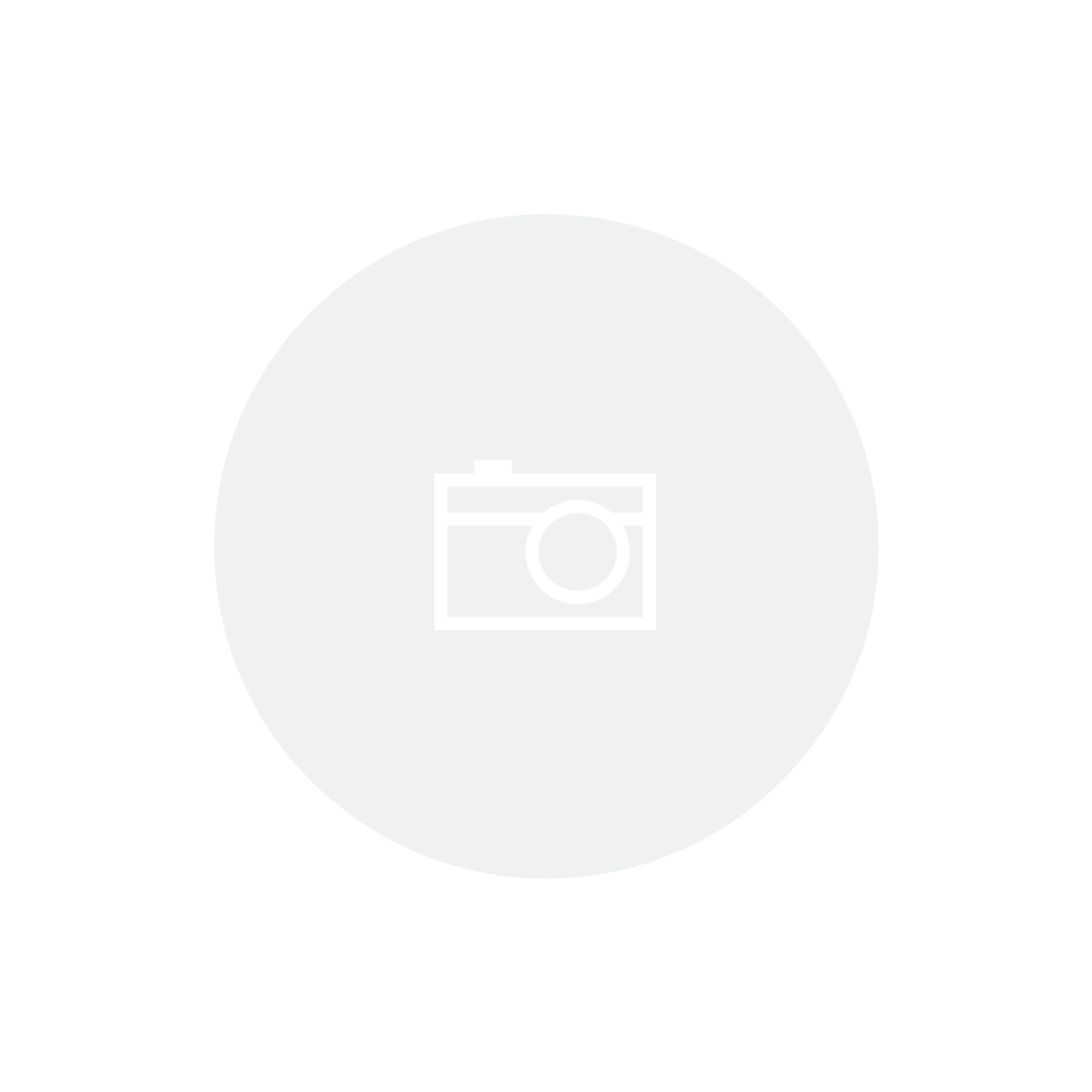 Cachepot Preto/branco 13,5x12,5cm Bencafil