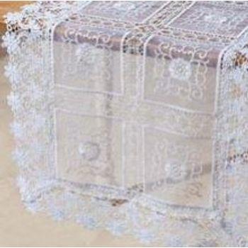 Caminho de Mesa 40 x 135 cm Branco