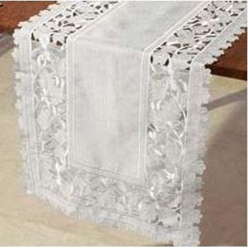 Caminho de Mesa 40 x 169 cm Off White