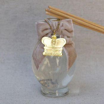 Difusor Buque de Rosas Vidro Bambu 100 ml