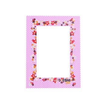 Porta Retrato Floral Lilas