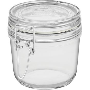 Pote Hermetico 350ml Vidro Transparente