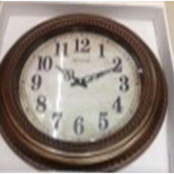 Relógio Plástico de Parede 50X6 cm