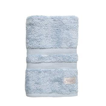 Toalha Banho Algodão Egípcio cor Azul Claro