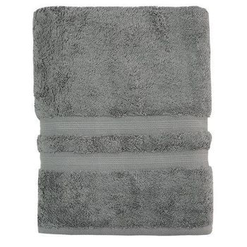 Toalha Banho Algodão Egípcio cor Cinza