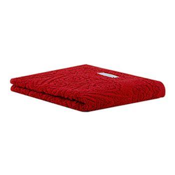 Toalha de Rosto Classic cor Vermelha