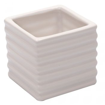 Vaso em Cerâmica Branco