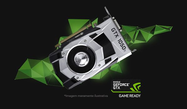 GEFORCE GTX 1050 ti : A PERFEIÇÃO NOS GAMES