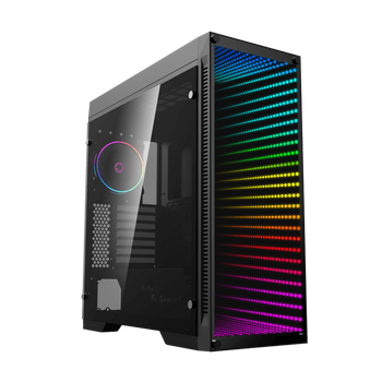 GABINETE GAMEMAX GAMER INFINIT BLACK RAINBOW (2587)