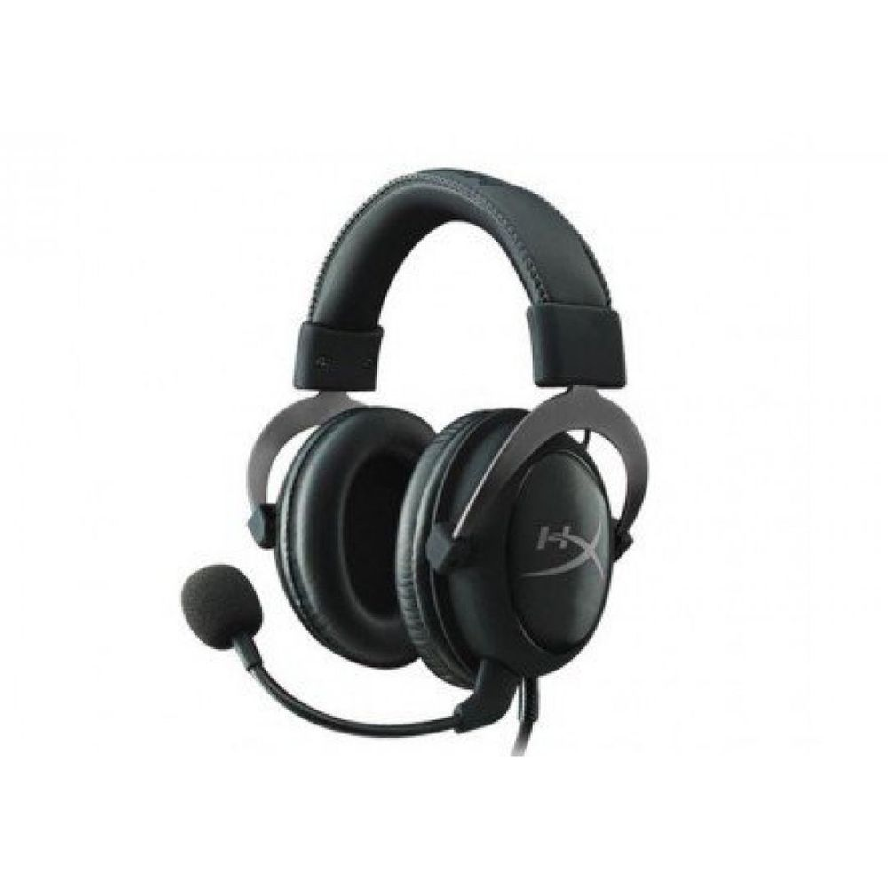 FONE HEADSET KINGSTON HYPER X CLOUD II GUN METAL, KHX-HSCP-GM