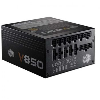 FONTE COOLER MASTER V850 850W, CERTIFICADO 80 PLUS GOLD, PFC ATIVO, RS850-AFBAG1-WO - BOX