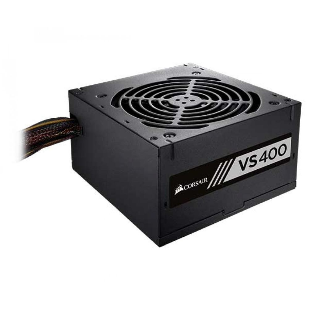 FONTE CORSAIR VS400 80PLUS WHITE PFC ATIVO 400W, CP-9020117-LA