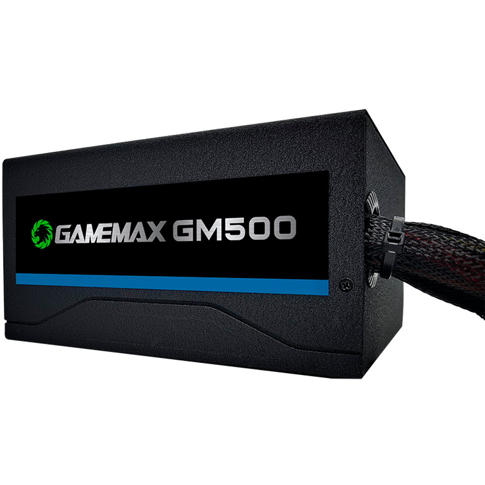 FONTE GAMER 500W 80 PLUS BRONZE GAMEMAX GM500
