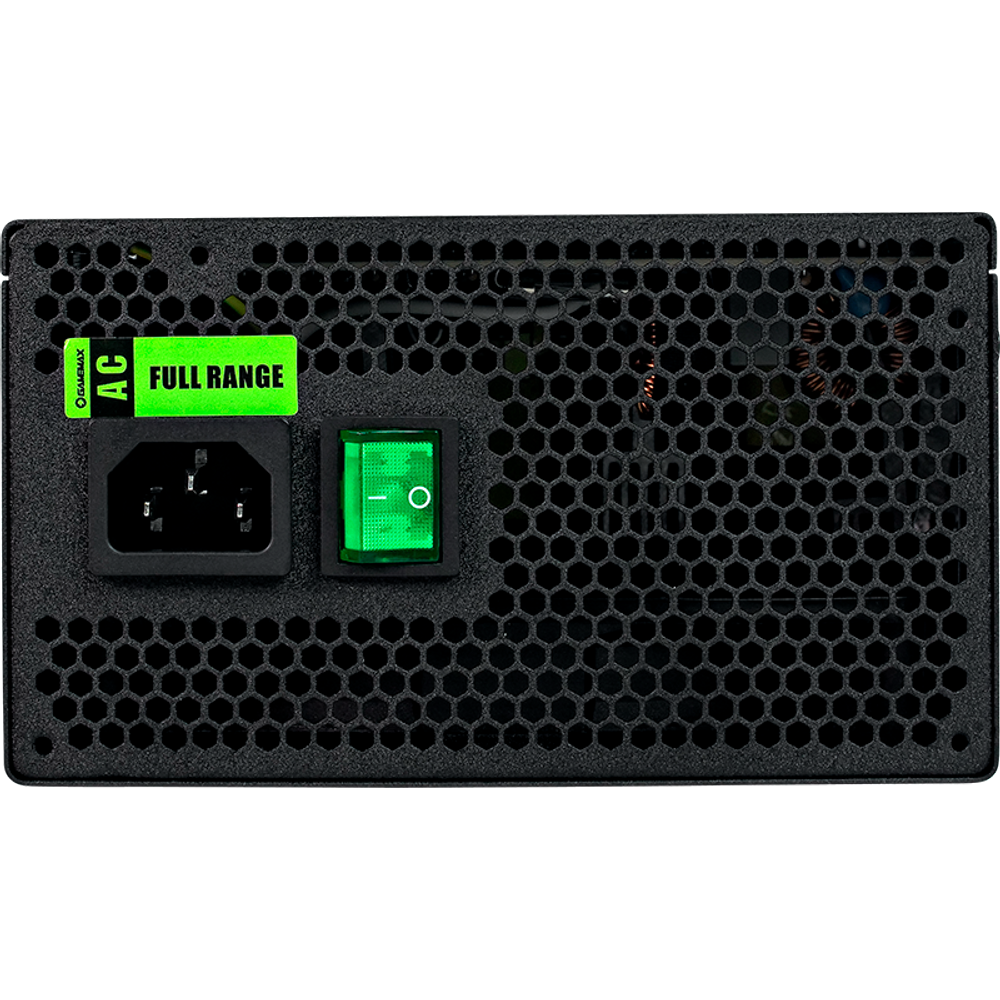 FONTE GAMER SEMI-MODULAR 1050W 80 PLUS SILVER GAMEMAX GM1050