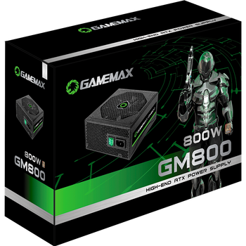 FONTE GAMER SEMI-MODULAR 800W 80 PLUS BRONZE GAMEMAX GM800