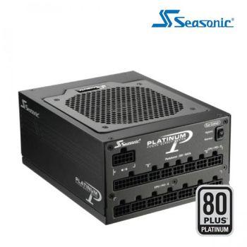 FONTE SEASONIC 1200W FULL MODULAR 80 PLUS PLATINUM PFC ATIVO, SS-1200XP - BOX