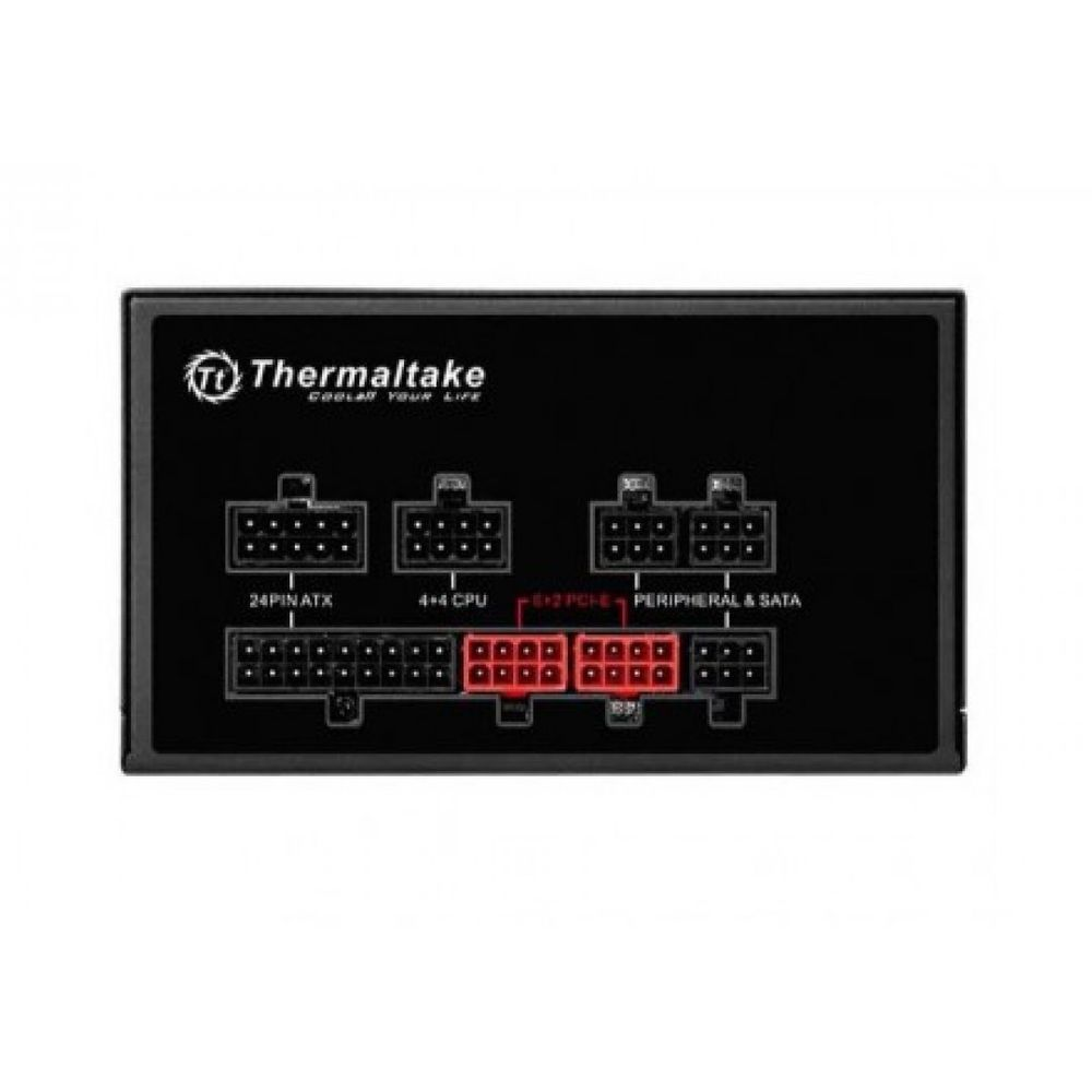 Fonte Thermaltake 650W 80 Plus Bronze - PS-SPR-0650FPCBUS-R