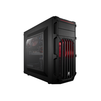 GABINETE CORSAIR CARBIDE SPEC-03 RED, CC-9011052-WW - BOX