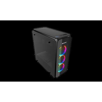 GABINETE COUGAR PURITAS RGB LATERAIS/FRONTAL VIDRO TEMP PURITAS-RGB