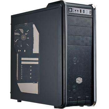GABINETE GABINETE 590 III ATX, MICRO-ATX, MINI-ITX PRETO USB 3.0 RC-593-KWN2 - COOLER MASTER