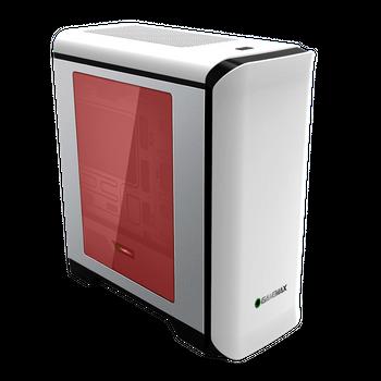 Gabinete Gamemax H602BG Fan 32-LED Vermelho