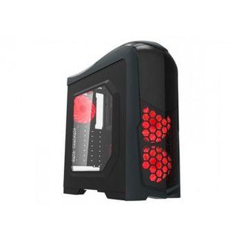 GABINETE GAMEMAX PRETO LED RGB, G539
