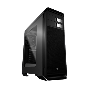 GABINETE GAMER AEROCOOL AERO 500, MID TOWER, BLACK