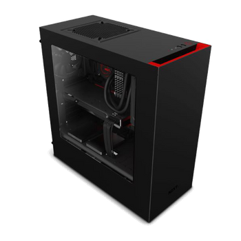 GABINETE NZXT S340 RED EDITION CA-S340MB-GR