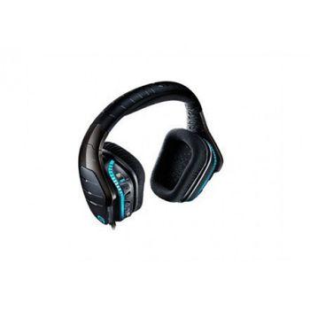 HEADSET GAMER LOGITECH G633 ARTEMIS SPECTRUM RGB 7.1 SURROUND PRETO, 981-000604