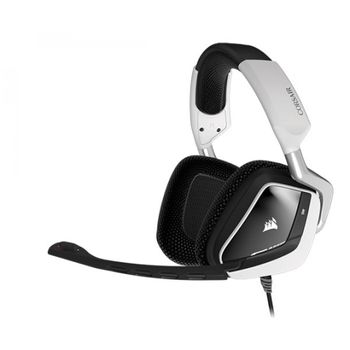 HEADSET GAMING CORSAIR VOID RGB DOLBY 7.1 USB BRANCO, CA-9011139-NA
