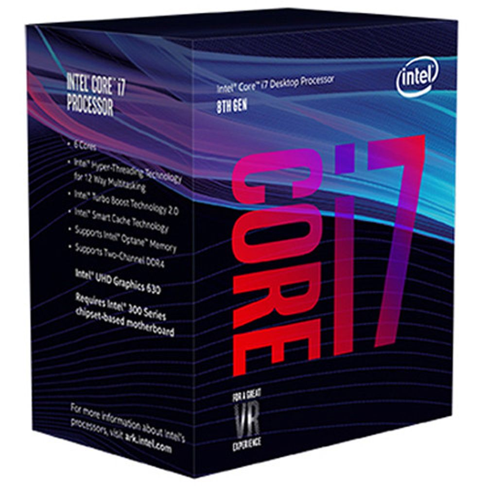 (LGA 1151) INTEL CORE I7 8700 3.2GHz 12MB CACHE