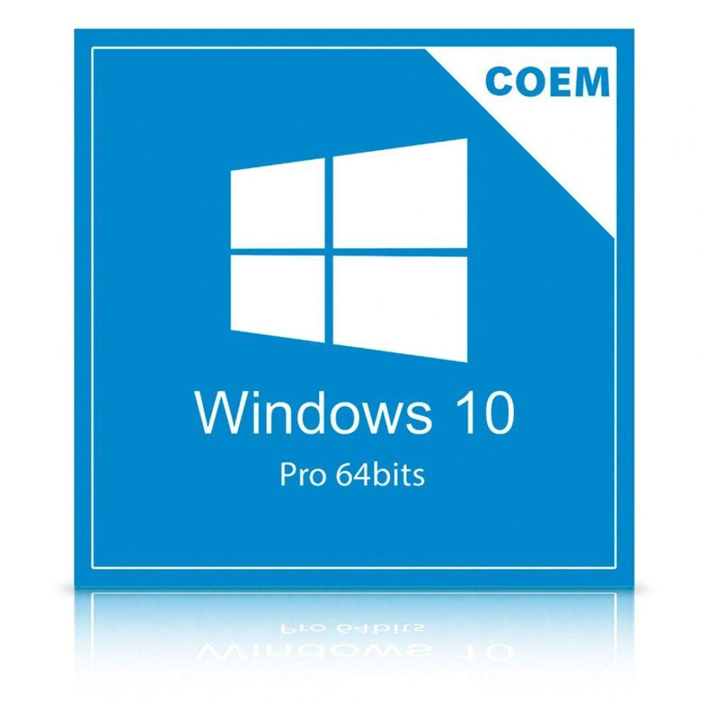 Microsoft Windows 10 Pro 64 Bits Português FQC-08932 COEM