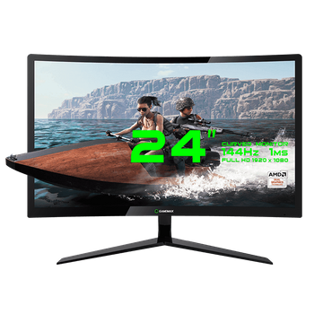 Monitor Gamemax Gaming GMX24C144 FULL HD 1080P 144hz 24