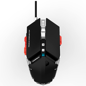 MOUSE GAMER MECANICO GAMEMAX GX9
