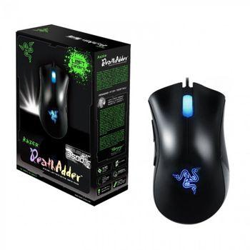 Mouse Razer Deathadder - 3500dpi - 5 botões - com LED Azul - RZ01-00151400-R3A1