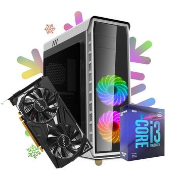 PC GAMER ARTIK - GTX 1650 4GB / I3-9100F / 8GB DDR4 / ELYSIUM WHITE