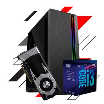 PC Gamer CS BOX LVL-2 - GEFORCE GTX1660 6GB / INTEL CORE I3 8100 / 8GB DDR4