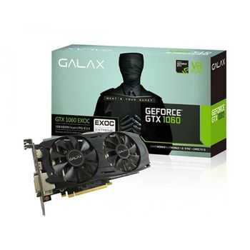 PLACA DE VÍDEO GALAX GEFORCE GTX 1060 3GB EX OC GDDR5 192BIT, 60NNH7DVM6O3