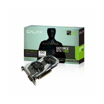PLACA DE VÍDEO GALAX GEFORCE GTX 1060 3GB OC GDDR5 192BIT , 60NNH7DSL9C3