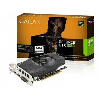 Placa de vídeo Geforce GTX 1050 2GB Galax OC GDDR5 - 50NPH8DSN80C